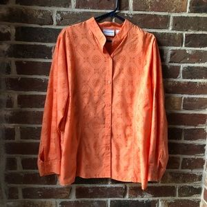 Like New Women's Orange Blouse